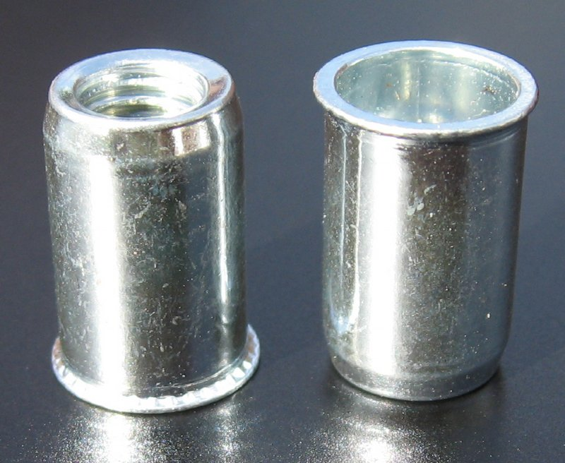 ProGrip rivet nuts - stainless steel round