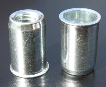 Stainless Steel, low profile head ProGrip Rivet Nuts - 0211 Series