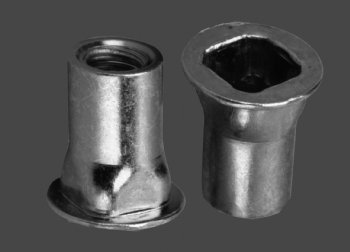 ProGrip Steel square body rivet nut - 0126 Series