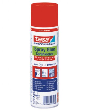 Tesa 60022 Spray glue EXTRA STRONG, 500ml