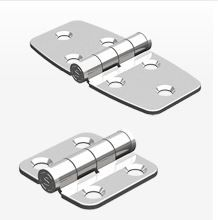 N6 Stainless Steel Leaf Hinge