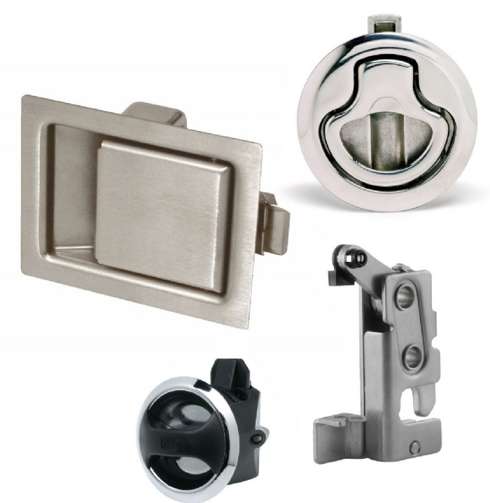 Flexible Cable Latch System : Southco products full range zygology ltd